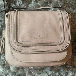 Kate spade Crossbody bag leather with suede detail